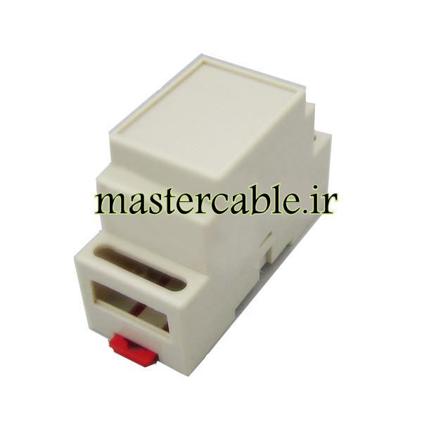 باکس کوچک الکترونیکی ریلی ماژولار ABR108-A1 با ابعاد 59×88×37