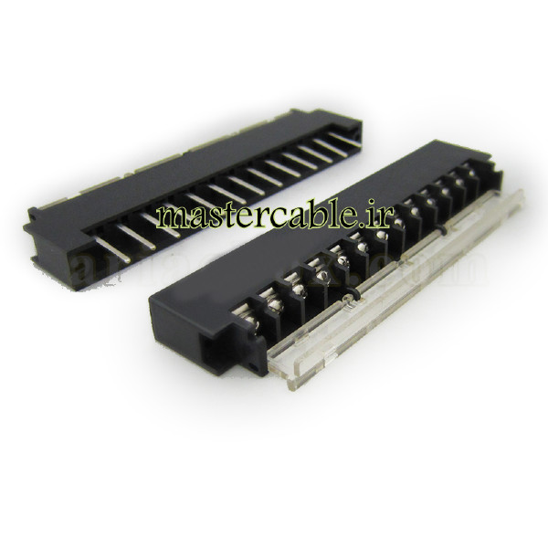 ترمینال ریلی ولتاژ بالا 13 پین مدل Terminal 13 Pin با ابعاد 40×131