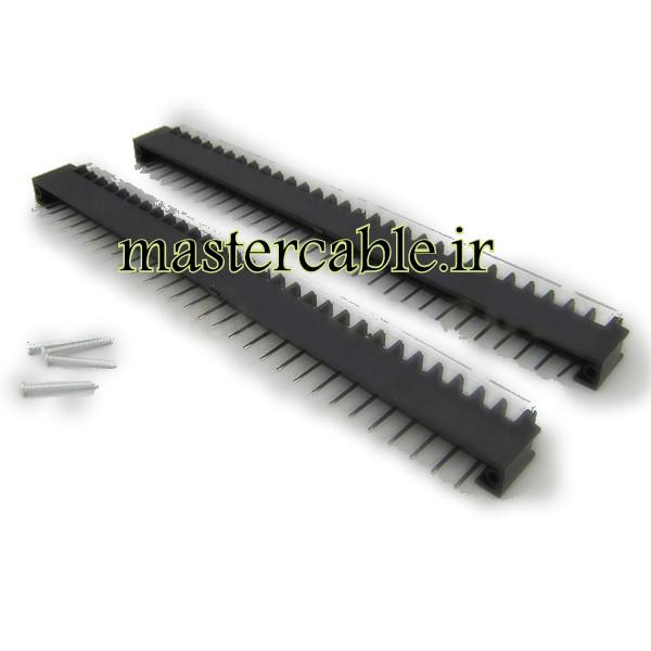 ترمینال ریلی ولتاژ بالا 29 پین مدل Terminal 29 Pin با ابعاد 40×275