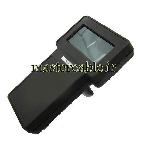 باکس دستی پلاستیکی نمایشگر 3.8 اینچ 22-21 Black با ابعاد 43×130×236