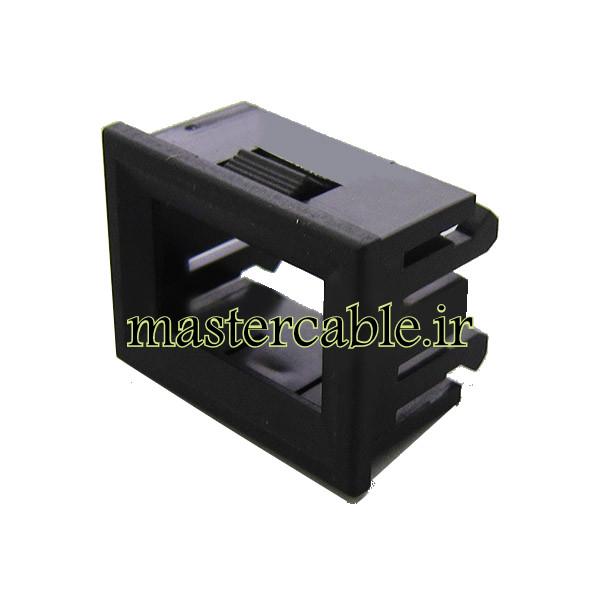 جعبه پلاستیکی نمایشگر 2 کاراکتری مدل 31-27 با ابعاد 24×33