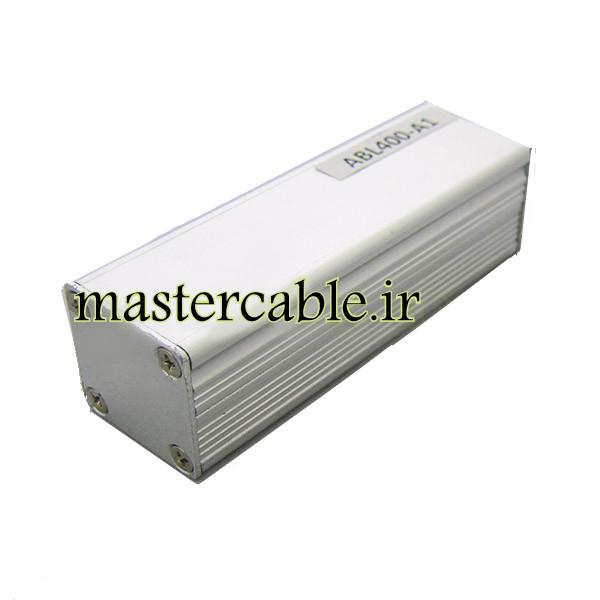 جعبه پروفیل آلومینیومی ABL400-A1 با ابعاد 25×25×80