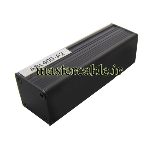 جعبه پروفیل آلومینیومی کابل فلزی ABL400-A2 با ابعاد 25×25×80