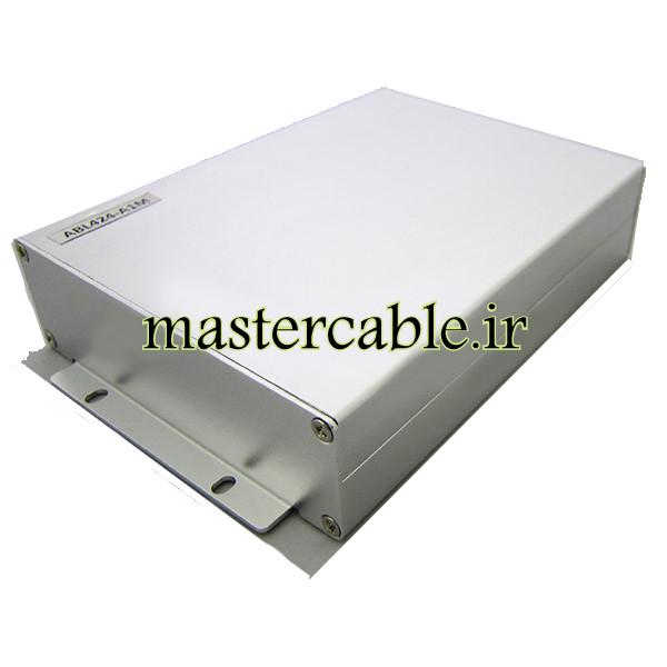 جعبه آلومینیومی مخابراتی-الکترونیکی ABL424-A1M با ابعاد 33×114×150