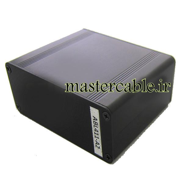 جعبه آلومینیومی برد الکترونیکی ABL411-A2 با ابعاد 38×88×70
