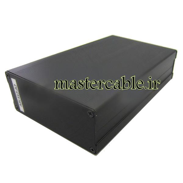 جعبه آلومینیومی کابل شاسی الکترونیکی ABL417-A2 با ابعاد 40×97×150