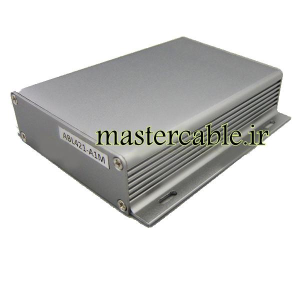 جعبه دیواری آلومینیومی قطعات الکترونیکی ABL421-A1M با ابعاد 28×104×120