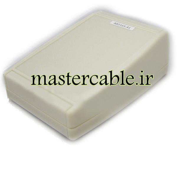 باکس پلاستیکی تجهیزات الکترونیکی شیبدار رومیزی ABD165-A1 با ابعاد 54×105×152