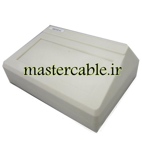 باکس پلاستیکی تجهیزات الکترونیکی شیبدار رومیزی ABD168-A1 با ابعاد 70×145×200