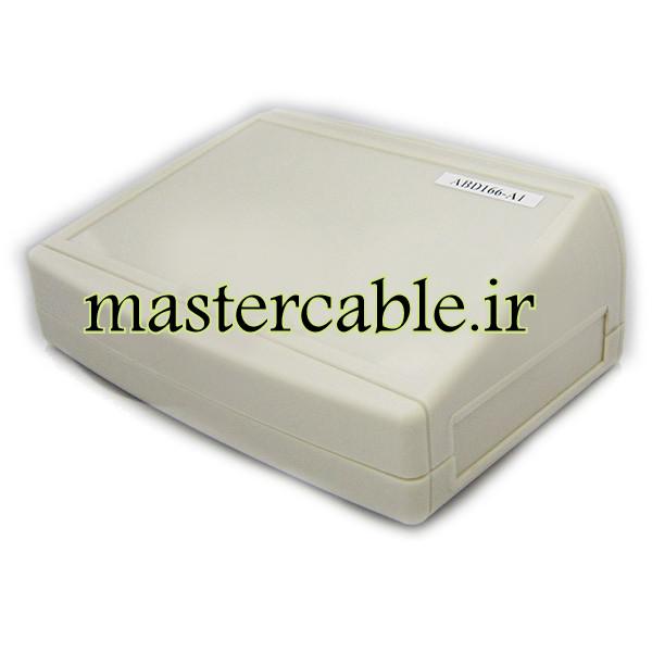 باکس پلاستیکی تجهیزات الکترونیکی شیبدار رومیزی ABD166-A1 با ابعاد 54×105×152