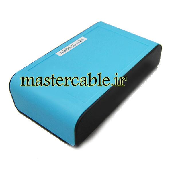باکس پلاستیکی تجهیزات الکترونیکی دستی رومیزی مدل ABD130-A24 با ابعاد 28×65×110