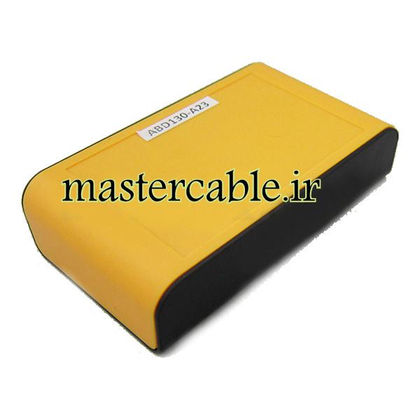 باکس پلاستیکی تجهیزات الکترونیکی دستی رومیزی مدل ABD130-A23 با ابعاد 28×65×110