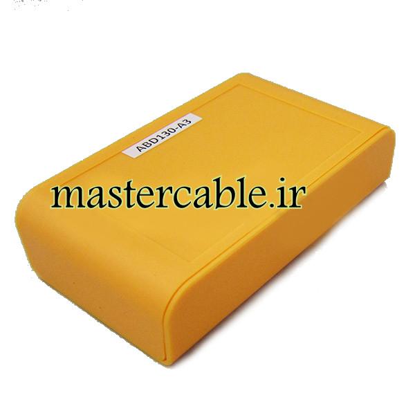 باکس پلاستیکی تجهیزات الکترونیکی دستی رومیزی مدل ABD130-A3 با ابعاد 28×65×110