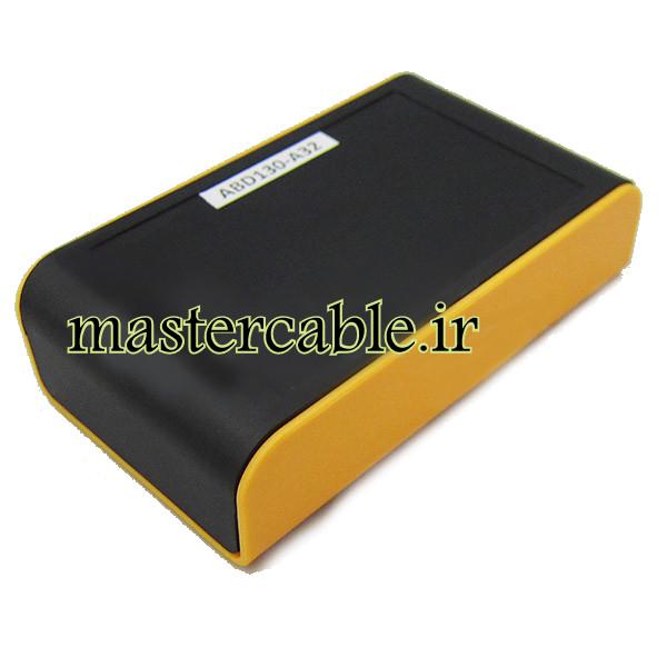 باکس پلاستیکی تجهیزات الکترونیکی دستی رومیزی مدل ABD130-A32 با ابعاد 28×65×110