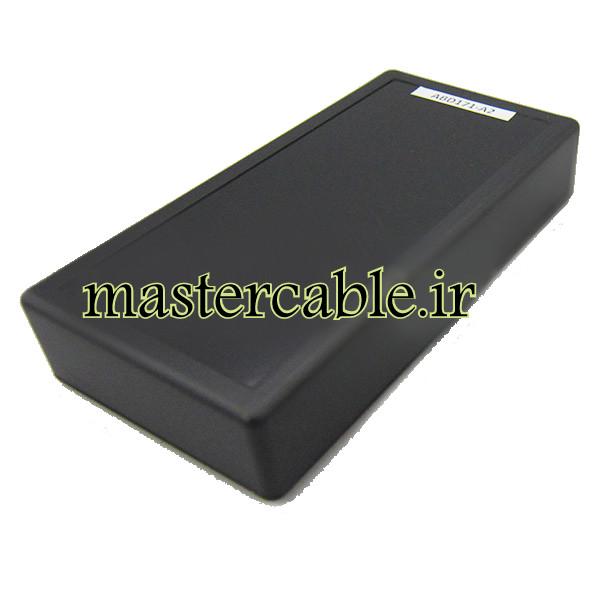 باکس پلاستیکی تجهیزات الکترونیکی رومیزی ABD171-A2 با ابعاد 30×75×150