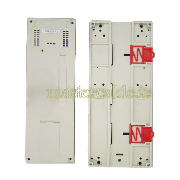 باکس پلاستیکی تجهیزات PLC ریلی ABR124-A1 با ابعاد 110×110×250