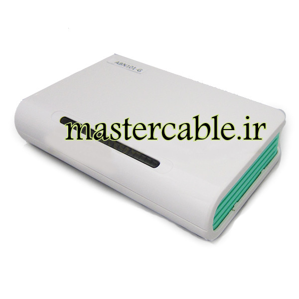 جعبه پلاستیکی وای فای تجهیزات شبکه ABN101-G با ابعاد 30×100×160
