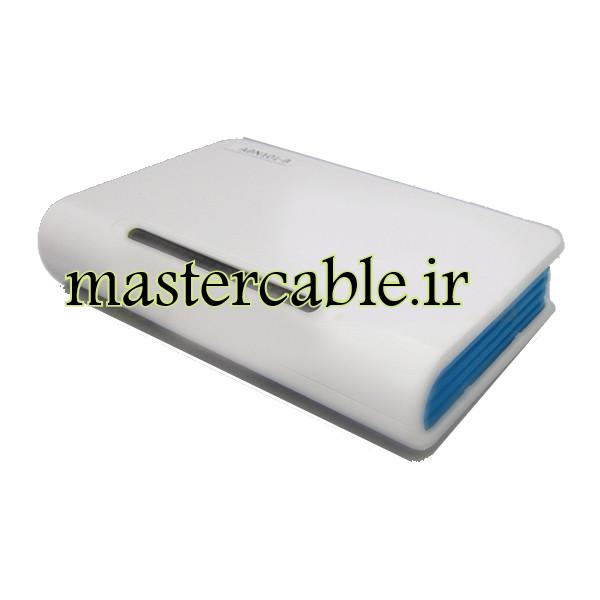 جعبه الکترونیکی بیسیم تجهیزات شبکه ABN101-B با ابعاد 30×100×160