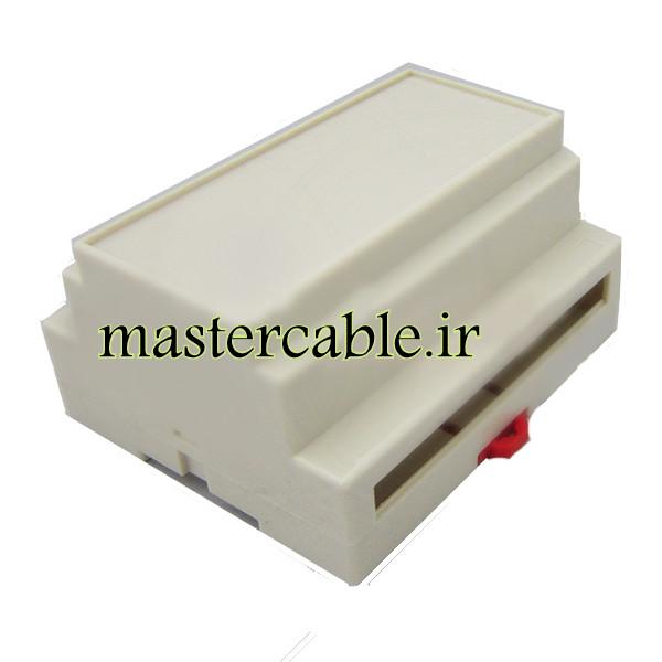 باکس فرستنده تجهیزات الکترونیکی ریلی ماژولار ABR115-A1 با ابعاد 59×88×107