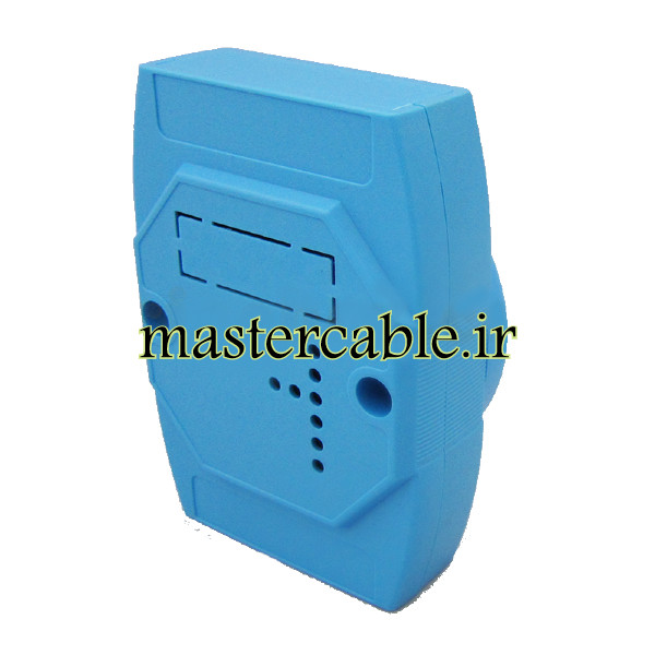 باکس کنترل ماژولار ریلی آبی ABR117-B با ابعاد 25×70×100