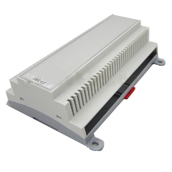 باکس الکترونیکی تجهیزات کنترگرهای ریلی 180-23 با ابعاد 57×132×178
