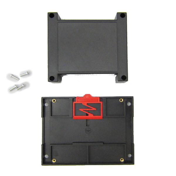 باکس الکترونیکی توزیع ریلی ماژولار ABR119-A2 با ابعاد 40×90×115