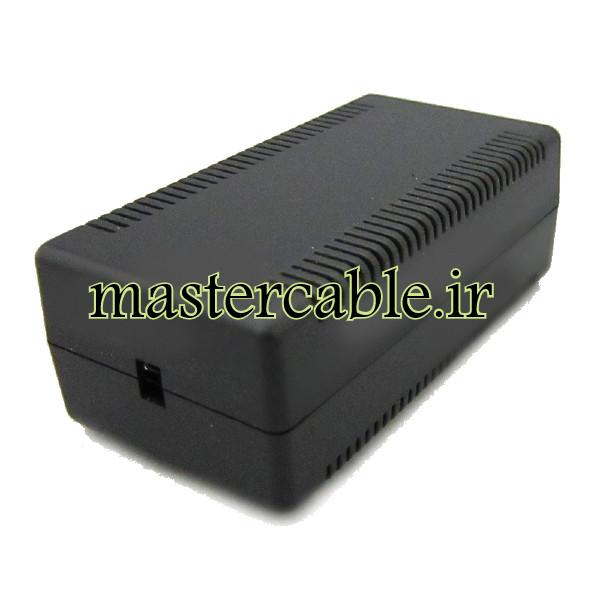 باکس پلاستیکی آداپتور الکترونیکی رومیزی مدل ABD148-A2 با ابعاد 40×56×108