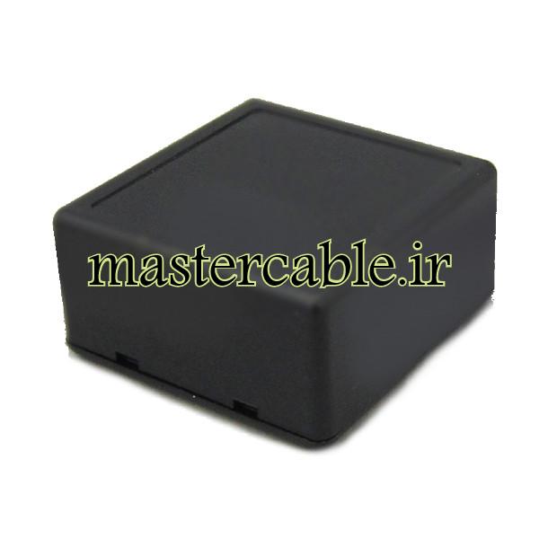 باکس پلاستیکی الکترونیکی رومیزی مدل ABD114-A2 با ابعاد 28×56×58