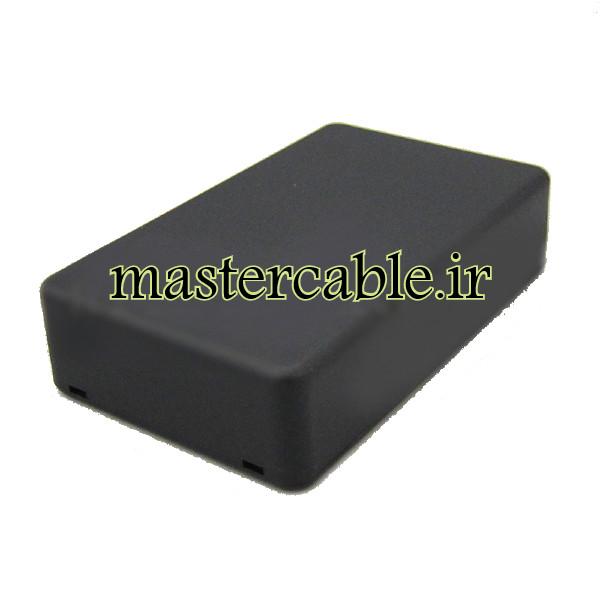 باکس پلاستیکی الکترونیکی رومیزی مدل ABD118-A2 با ابعاد 26×66×108