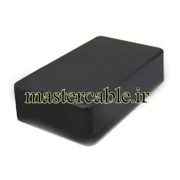 باکس پلاستیکی الکترونیکی رومیزی مدل ABD116-A2 با ابعاد 25×60×100