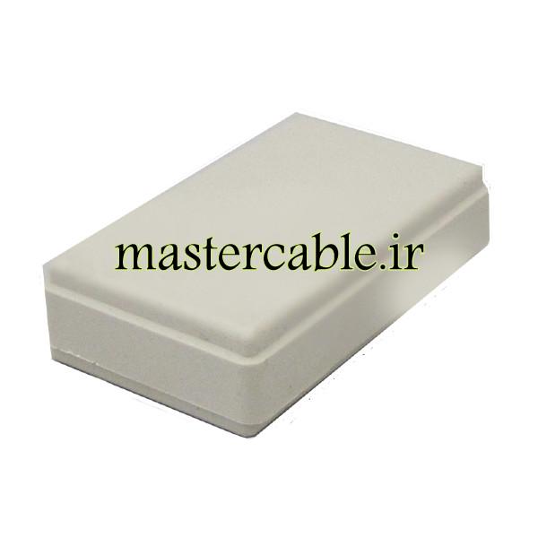 باکس پلاستیکی الکترونیکی رومیزی مدل ABD123-A1 با ابعاد 15×35×58
