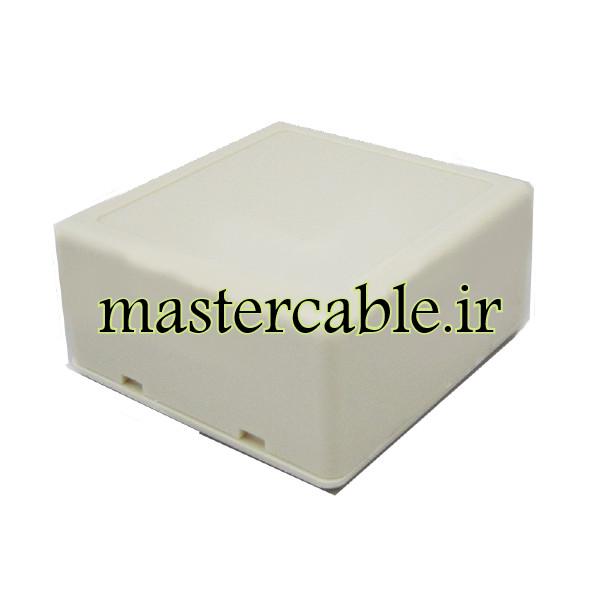 باکس پلاستیکی الکترونیکی رومیزی مدل ABD114-A1 با ابعاد 28×56×58