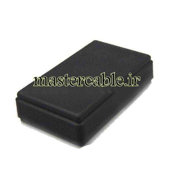 باکس پلاستیکی الکترونیکی رومیزی مدل ABD123-A2 با ابعاد 15×35×58