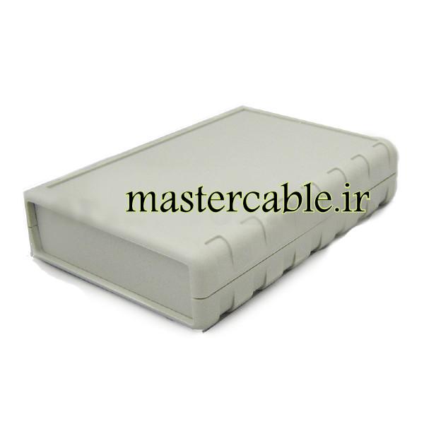 باکس پلاستیکی تجهیزات الکترونیکی رومیزی مدل ABD108-A1 با ابعاد 25.5×77×111.5
