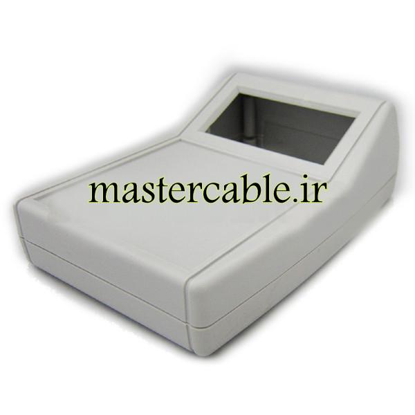 باکس پلاستیکی شیبدار/نمایشگردار رومیزی B300-A1 با ابعاد 54×108×151