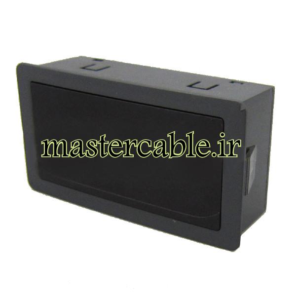 جعبه نمایشگر ولتاژ جریان پنلی مدل ABP305-A2 با ابعاد 26×43×79