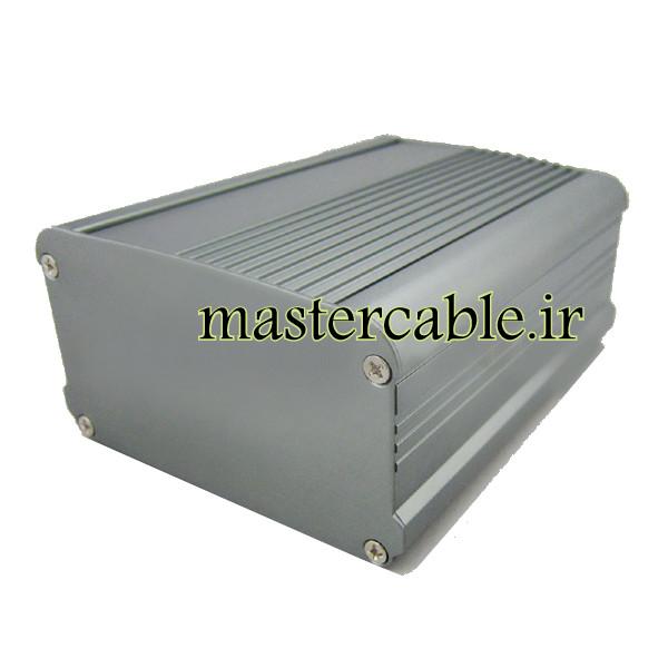 جعبه آلومینیومی شاسی تقویت کننده ABL413-A1/L120 با ابعاد 55×95×120