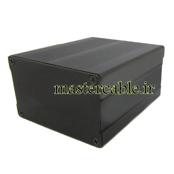 جعبه اکسترود آلومینیومی قطعات الکترونیکی ABL406-A2 با ابعاد 46×76×90