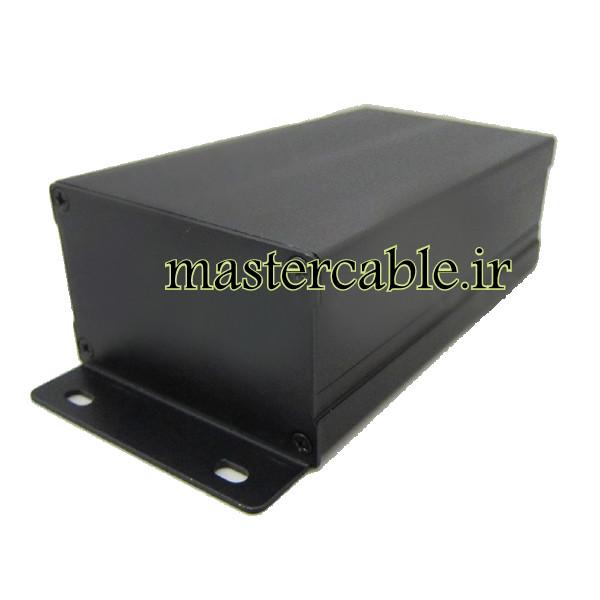 جعبه آلومینیومی قطعات الکترونیکی ABL407-A2M با ابعاد 46×76×130