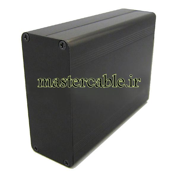 جعبه رومیزی آلومینیومی برد الکترونیکی ABL412-A2 با ابعاد 38×88×120