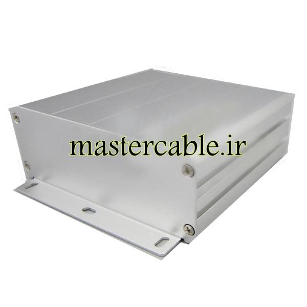 جعبه آلومینیومی ابزارآلات الکترونیکی ABL425-A1M با ابعاد 45×122×110