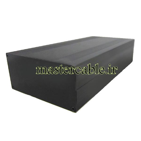 جعبه تجهیزات اکسترود آلومینیومی ABL431-A2 با ابعاد 54×145×250