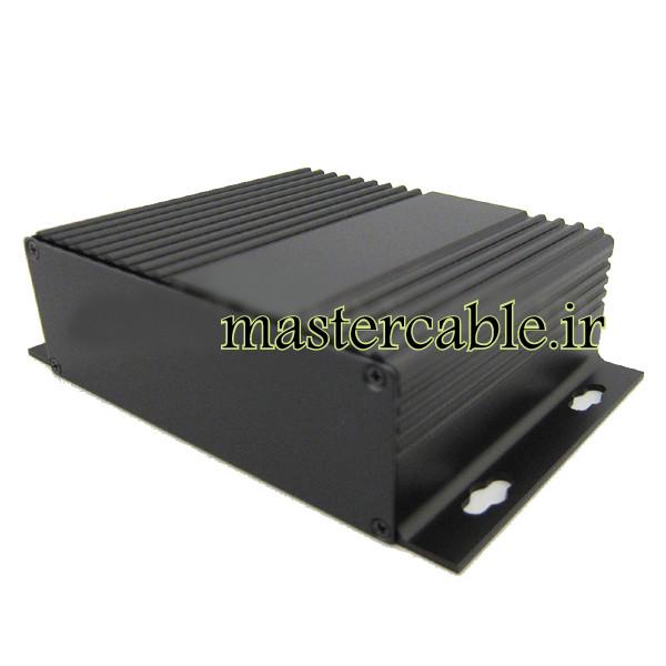 جعبه آلومینیومی منبع تغذیه موبایل ABL434-A2M با ابعاد 41×147×100