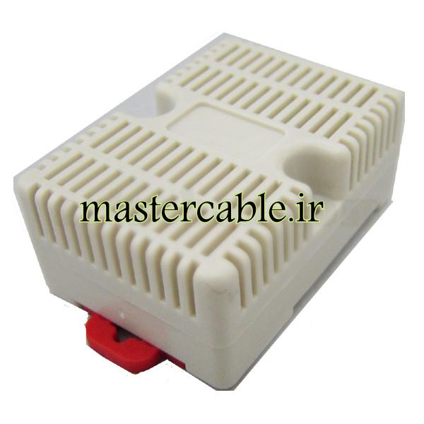 باکس کوچک تجهیزات ریلی ماژولار ABR127-A1 با ابعاد 29×46×65